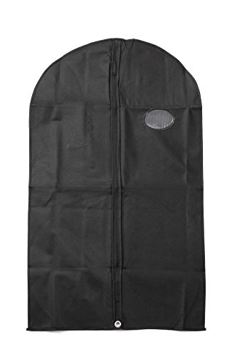 Set of 3 Travel Garment Bag Cover 40in - Safe Storage for Suits (Wally Bags 40 Suit)