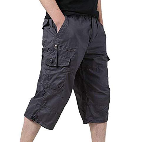 Pantaloni Causali Tool 3 Grau Uomo Nero Fit Loose Estate Adelina 4 Pant Pantaloncini Cargo Abbigliamento Pantalone WeDIYbEH29
