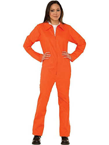 Forum Novelties Adult Orange Prison Suit Unisex -