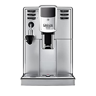 Gaggia Anima Deluxe Super Automatic Espresso Machine, Silver by Gaggia