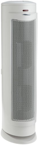 Bionaire BAP825WO-U HEPA-Type Tower Air Purifier with Remote Control - HEPA - 180 Sq. ft. - White, Silver 214940147