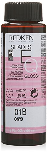 Conditioning Gloss Color (Redken Shades EQ Color Gloss Onyx for Women Hair Color, 2 Ounce)