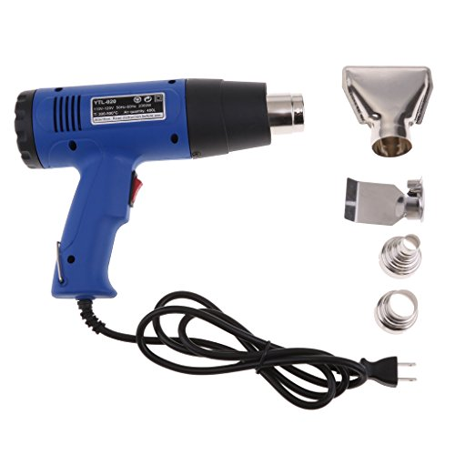Flameer Heat Gun - Hot Air Gun 2000W – Remove Paint, Varnish & Adhesives Dual Temp by Flameer