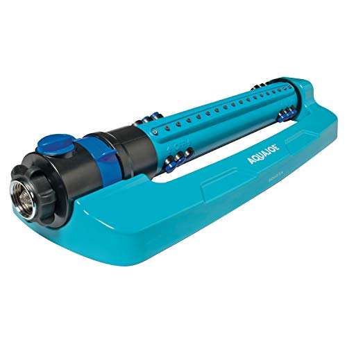 Aqua Joe AJ-OMS18-TRB Indestructible 4499 Sq Ft Variable Width, Turbo Oscillating Sprinkler