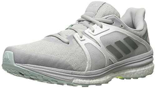 adidas Women's Supernova Sequence 9 W Running Shoe, Solid Grey/Matte Silver/White, 7 M US