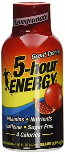 5 Hour Energy Drink Pomegranate Flavor 24 Pack