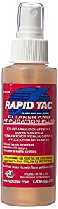 RAPID TAC Application fluid for Vinyl Wraps Decals Stickers 4oz Sprayer