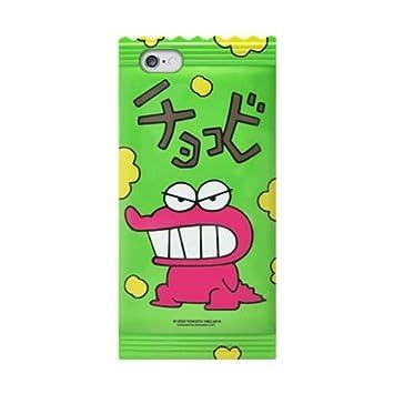 14323138e4 【iPhone6 iPhone6s ケース カバー 】 グリーン /クレヨンしんちゃん チョコビのスマホケース