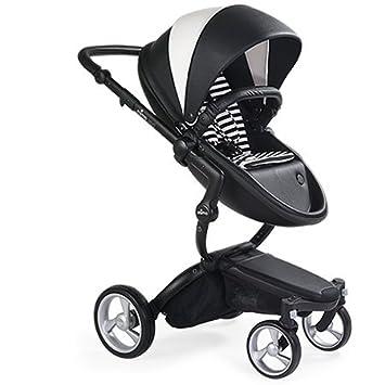 Mima Xari Stroller Black Chassis White Seat Starter
