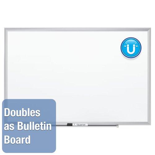 034138254301 - Quartet Magnetic Whiteboard, Premium Dry Erase Board, Duramax, 2 x 3 Feet, Silver Aluminum Frame (2543) carousel main 6