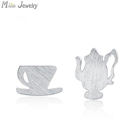 Slyq Jewelry Fashion Tea Cup Stud Earring Stud Earring Jewelry