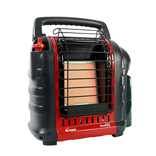 Camp Heater - Mr. Heater F232000 MH9BX Buddy 4,000-9,000-BTU Indoor-Safe Portable Propane Radiant Heater
