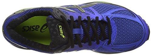 Asics Gel-Cumulus 17 G-TX, Scarpe da Corsa Uomo Blu (Mosaic Blue/Black/Lime Punch 5390)