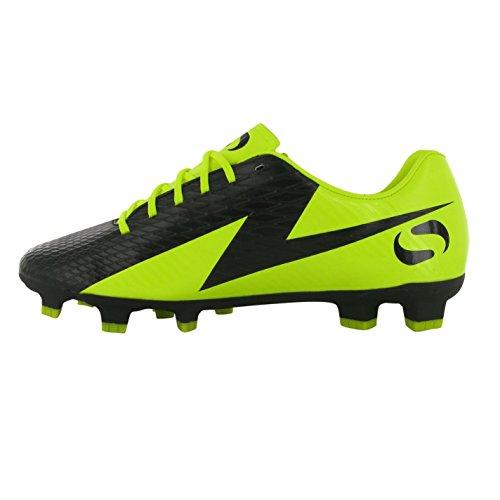 Sondico Venata FG Niños Fussballschuhe nocke Guantes de deporte Guantes Fútbol Black/yellow