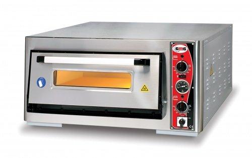 Horno para pizza con termómetro, 1 cámara, 6 pizzas de 30 cm de ...
