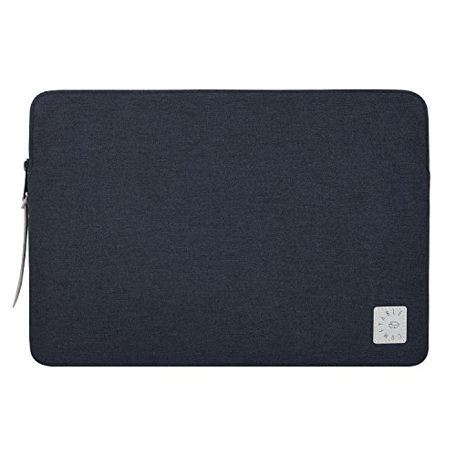Comfyable Laptop Sleeve for 15 Inch New MacBook Pro 2016 & 2017- Waterproof Mac Cover Case- Charcoal Blue
