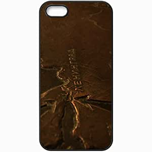 Protective Case Back Cover For iPhone 5 5S Case Copper Black
