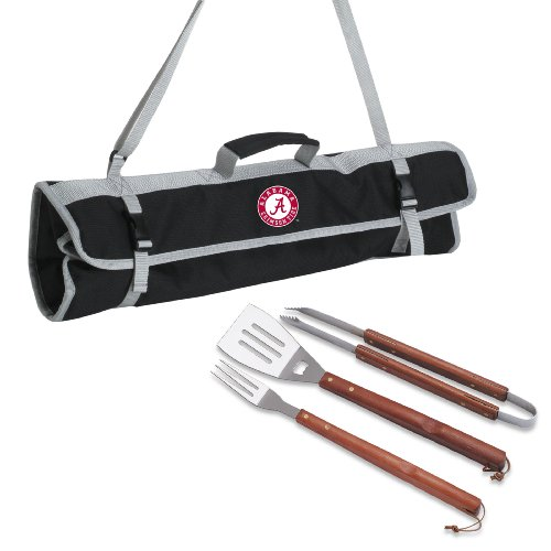 NCAA Alabama Crimson Tide 3-Piece BBQ Tote ()