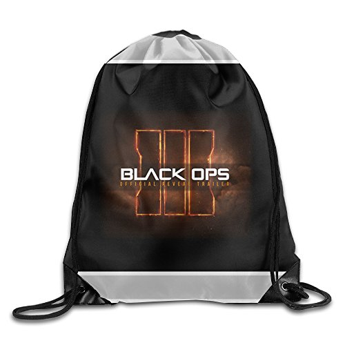 Price comparison product image Acosoy Black Ops 3 Call Of Duty Game Logo Drawstring Backpacks/Bags