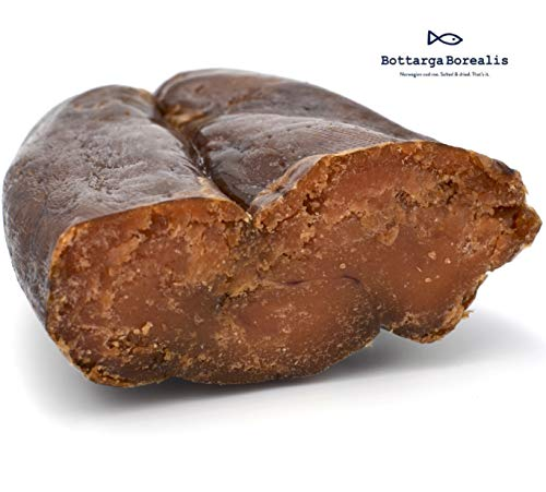 Bottarga Borealis (Dried Cod Roe) 3.5 oz From The Depths Of The Norwegian Arctic