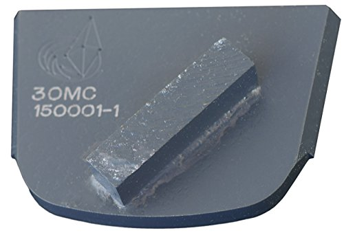 Metal Grinding Bond Diamond Disc (Lavina X1S-MC-0030 Diamond Medium Metal Bond for Medium Concrete 30 Grit Single Segment)