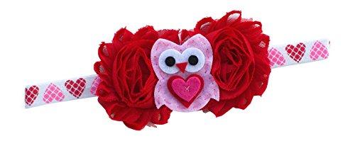 Valentine Heart Headband Baby Bebe Girl Newborn Gift Cute (Heart Headband) -