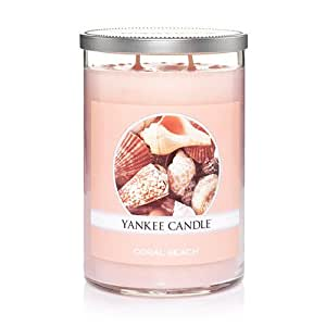 Yankee Candle Coral Beach Large 2-Wick Tumbler Candle