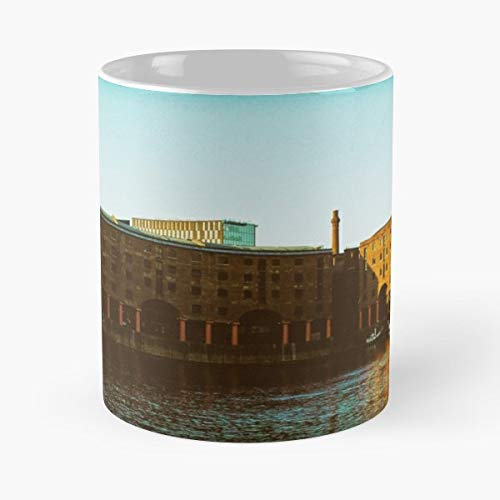 Liverpool Three Graces Albert Dock Cunard Building - White -coffee Mug- Unique Birthday Gift-the Best Gift For Holidays- 11 Oz.