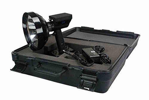 Hard Sided Storage and Transportation Case for RL-85-HID-HC Rechargeable Spotlight by Larson Electronics