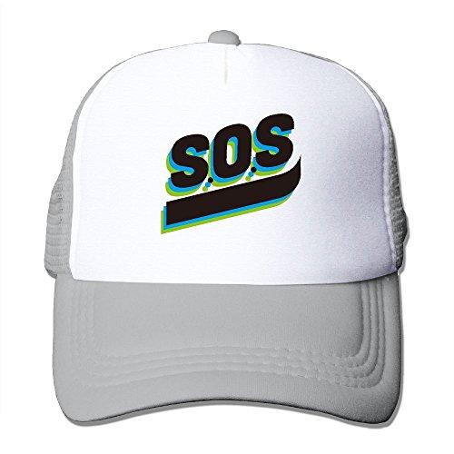 Moncler Kids (Outdoor Mesh Cap SOS Personality Artfor Travel Adjustable Hat)