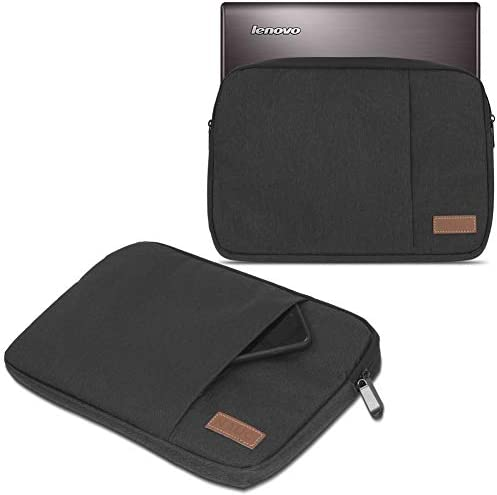 Emartbuy/® Black Water Resistant Neoprene Soft Zip Case Cover Sleeve With Black Interior /& Zip Suitable for HP Elite x2 1012 G1 Tablet 12 Inch with Keyboard 11.6-12.5 Inch Tablet Chromebook Laptop