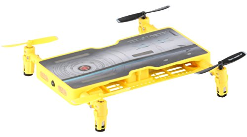 - ODYSSEY Toys Airplanes Ody-1716NX Real Drone That Takes HD Video and Pictures. Fold Out Motors Makes It the Same Size As a Smartphone-So It Really Does Fit in Your Pocket, Gold, 5.52.8.6