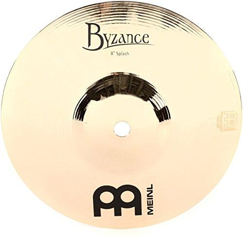 Meinl Cymbals B8S-B Byzance 8-Inch Brilliant Splash Cymbal (VIDEO)