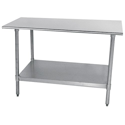 Economy Stainless Steel Top Workbench Size: 35.5