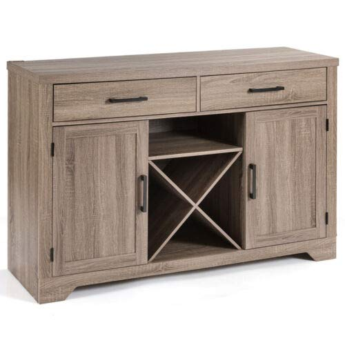 - Sideboard Console Storage Cabinet Buffet Cabinet Side Cabinet with Two Drawers
