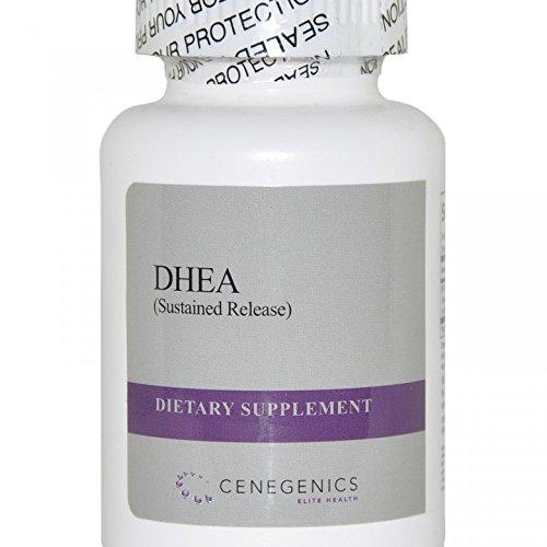 Cenegenics SR DHEA (Устойчивый выпуска) 20 мг, 30 фото бутылку природного стероид гормона для поддержки иммунной функции, функции мозга & энергии метаболизма