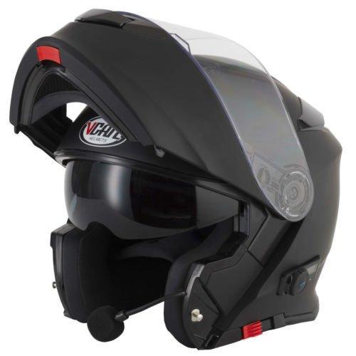 Flip up motorbike helmet VCAN V271 Bluetooth Motorcycle Bike Adventure...