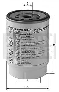 Mann-Filter PL 270/1 x Filtro para Combustible