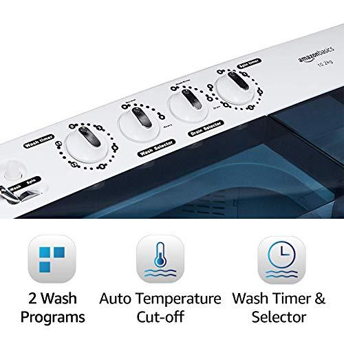Amazonbasics Semi Automatic Washing Machine Review