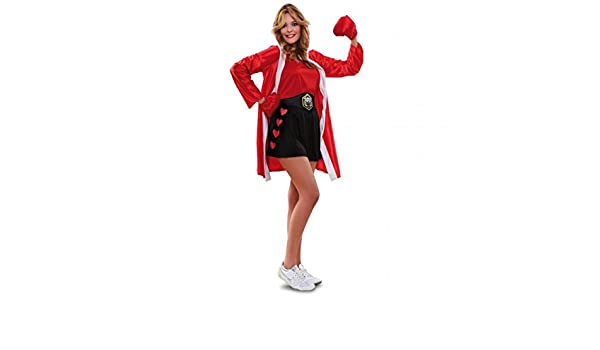 Disfraz de boxeadora talla M-L: Amazon.es: Juguetes y juegos