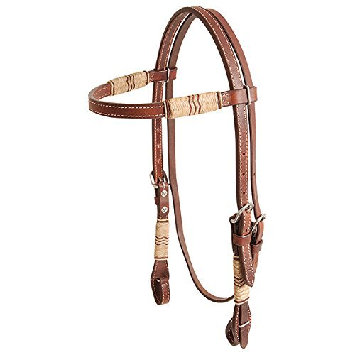 Headstall Browband 2015 - Rawhide Trim Rawhide Trim