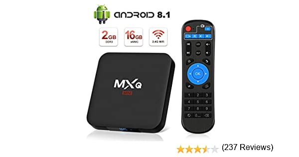 Android 8.1 TV Box, Superpow Smart TV Box Quad Core 2GB RAM+16GB ...