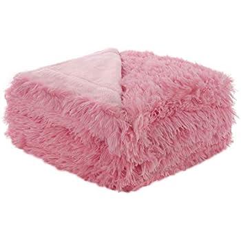 Amazon Com Sleepwish Huge Soft Blanket Dusty Rose Pink