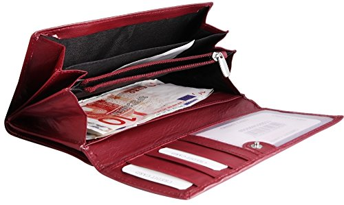 Akzent rouge Porte 495069550011 monnaie Rot wZqH70Zp