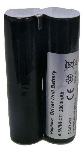 Banshee 4.8V 2000mAh NiCd replacement battery for Makita 678102-6 6041D 6041DW 6043D