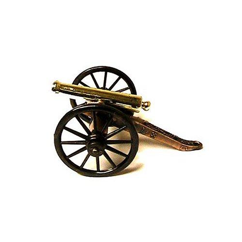 Miniature Napoleon Civil War Cannon Metal Figurine (Civil War Cannon Replica)
