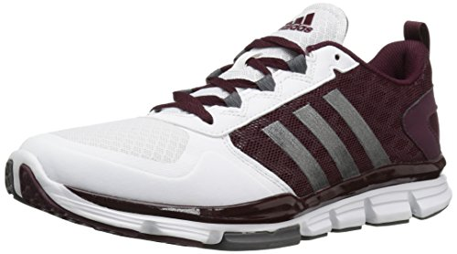 adidas+Performance+Men%27s+Speed+2+Cross-Trainer+Shoe%2C+Maroon%2FCarbon+Met.+White%2C+11.5+M+US