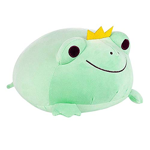 P/N Frog Plush Toys, Cute And Soft Reversible Frog Stuffed Animals Doll Super Soft Plush Toy Animal Pillow Stuffed…