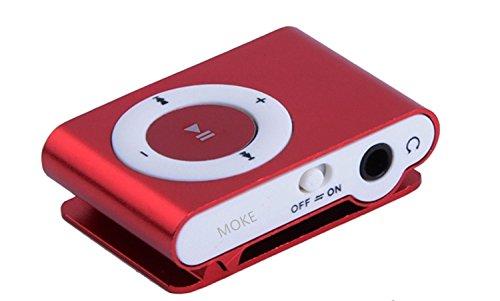 MOKE New Mini Metal MP3 Support Micro SD TF USB Media Player Music Random...