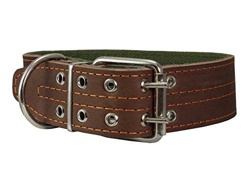 Genuine Leather Dog Collar 1.75